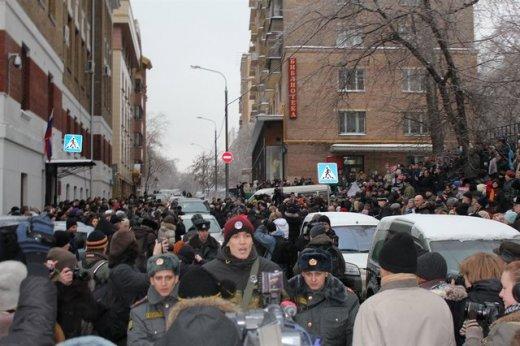Акция в поддержку Ходорковского