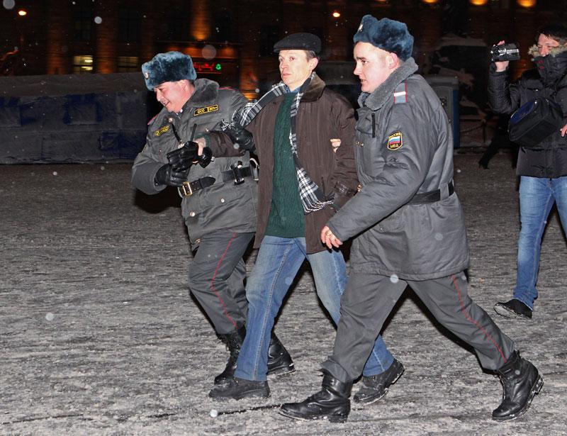 Юридический семинар о правах граждан во время и после задержания 21 декабря
