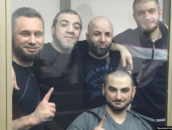 Симферопольское дело пятерых о членстве в запрещённой «Хизб ут-Тахрир»