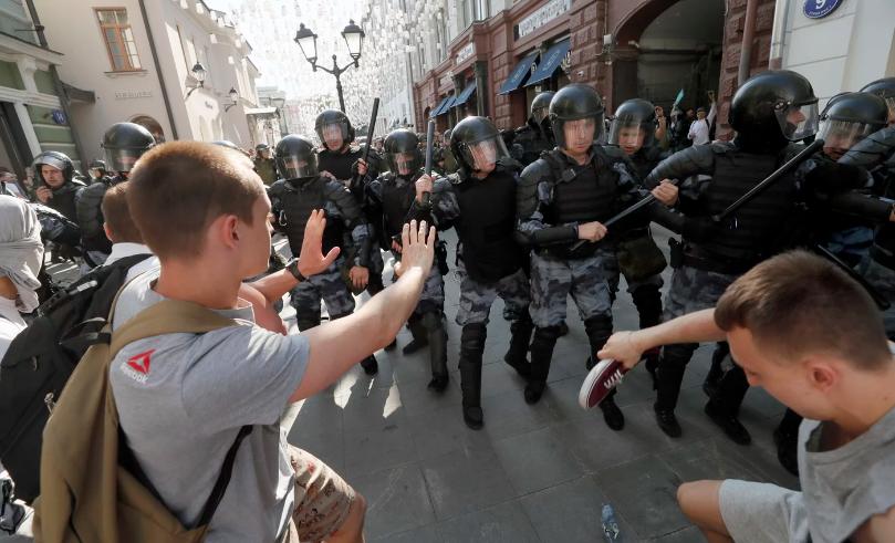Дело «о массовых беспорядках» в Москве 27 июля 2019 года