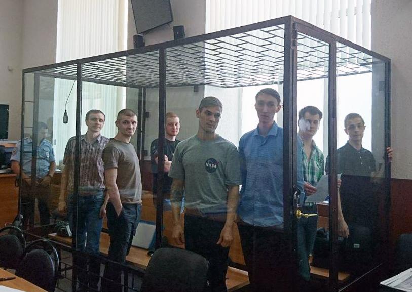 ССП признал политзаключёнными 8 антифашистов, обвиняемых по делу запрещённой «Сети»